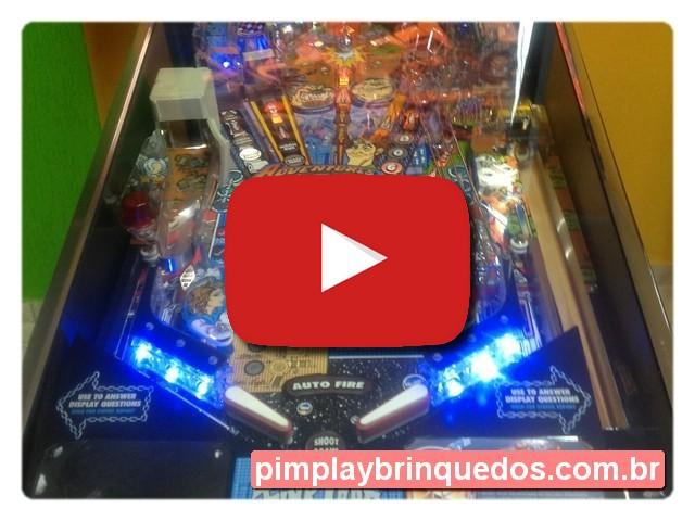 Mesa Pinball Curitiba