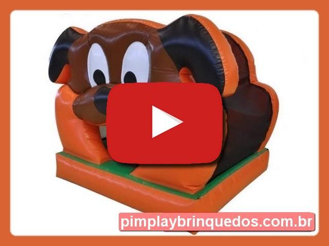Piscina de Bolinha Inflável Cachorrinho