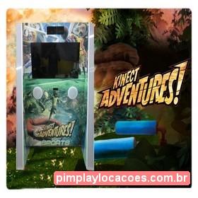 Locação Xbox Kinect Adventures Curitiba