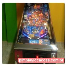 Locação Máquina de Pinball Curitiba