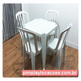 Locação Mesa e Cadeiras Curitiba