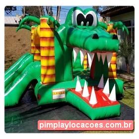 Locação Inflável Jacaré Pula Pula Curitiba
