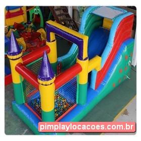 Locação Tobogã com Piscina de Bolinhas Curitiba