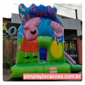 Locação Inflável Peppa Pig Curitiba