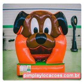 Locação Piscina de Bolinha Inflável Cachorrinho Curitiba