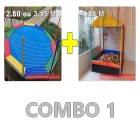 Locação Combo de Brinquedos 1 Curitiba