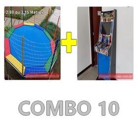 Locação Combo de Brinquedos 10 Curitiba