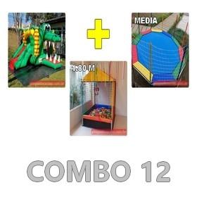 Locação Combo de Brinquedos 12 Curitiba