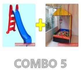 Locação Combo de Brinquedos 5 Curitiba