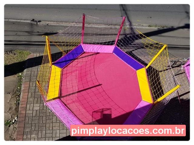 cama elastica 3.15 metros rosa