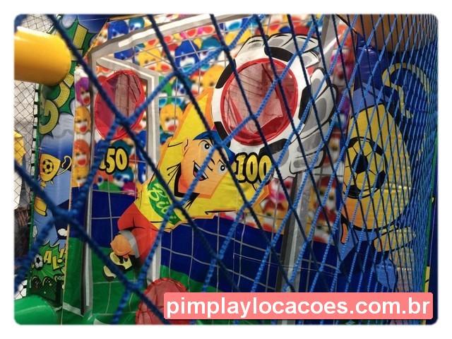 Locação Inflável Chute a Gol Curitiba