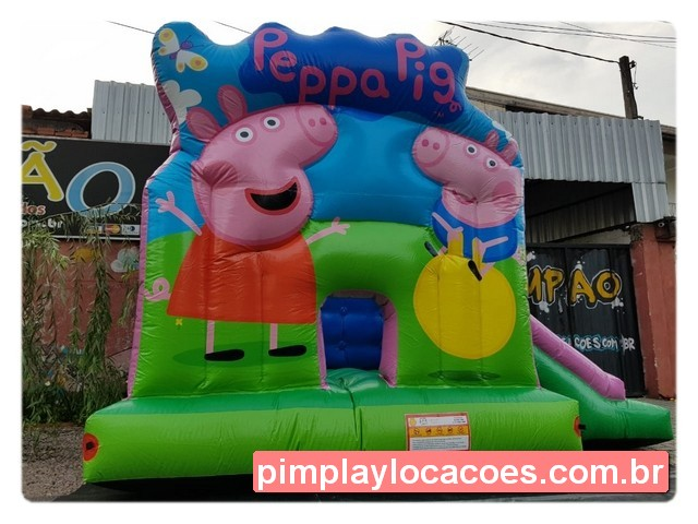 inflavel peppa pig curitiba