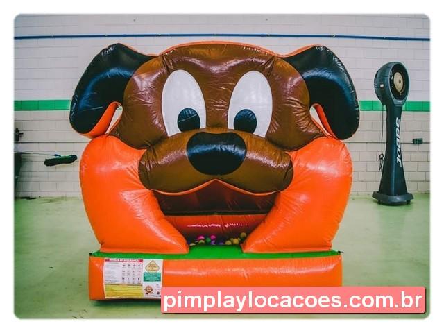 inflavel piscina de bolinha cachorrinho